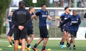 Rifinitura pre Inter-Fiorentina