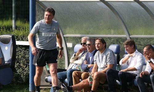 Inter vs Lugano Mazzarri