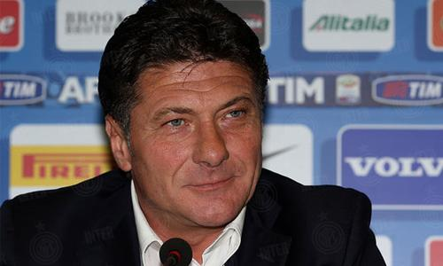 Walter Mazzarri conferenza