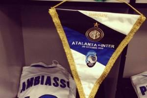 Atalanta-Inter gagliardetto