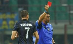 Belfodil espulsione Inter-Verona