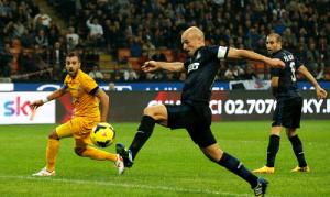 Esteban Cambiasso Inter Hellas Verona