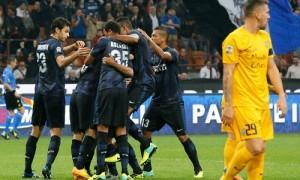Inter-Verona esultanza