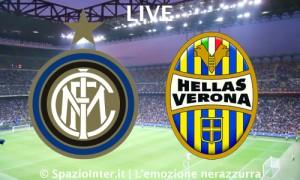 LIVE Inter Hellas Verona