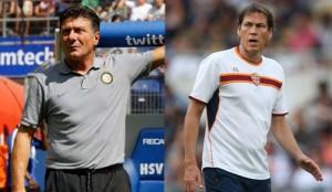 Mazzarri Garcia - Inter e Roma