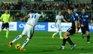 Ricky Alvarez gol Atalanta-Inter