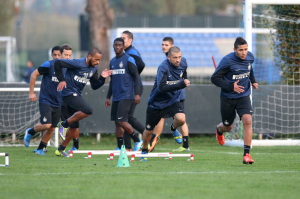 rifinitura Atalanta-Inter
