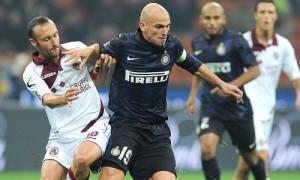 Esteban Cambiasso Inter-Livorno