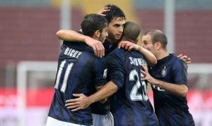 Esultanza Inter gol Udine