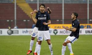 Esultanza Ranocchia Udine