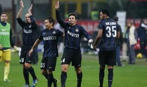Inter-Livorno saluto Zanetti