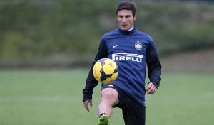 Javier Zanetti Inter allenamento