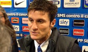 Javier Zanetti mixed zone
