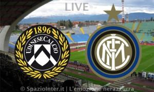 LIVE Udinese Inter
