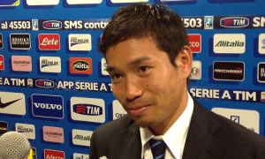 Yuto Nagatomo mixed zone