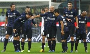 ritorni e inchini Zanetti Nagatomo Inter-Livorno