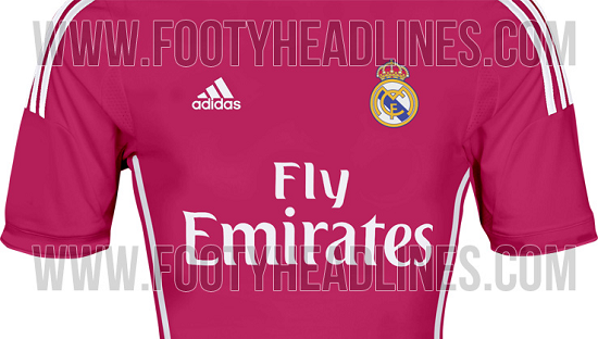 Real Madrid 14-15 Away Kit Colors
