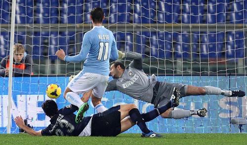 Lazio-Inter gol Klose