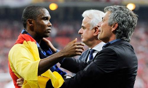 Eto'o Mourinho