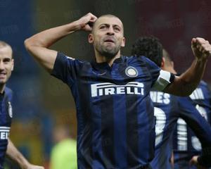 Walter Samuel Inter-Sassuolo esultanza gol