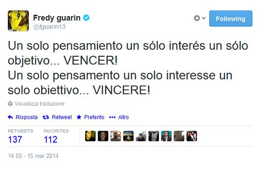 Guarin Twitter