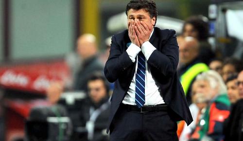 Walter Mazzarri Inter-Udinese
