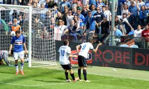 Mauro Icardi gol Samp-Inter (2)