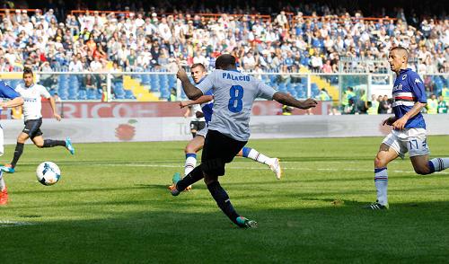 Rodrigo Palacio gol Samp-Inter