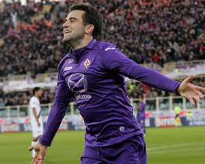 1. Giuseppe ROSSI - 1 gol ogni 95 minuti