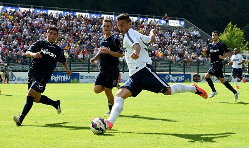 Inter-Trentino Team gol Bonazzoli