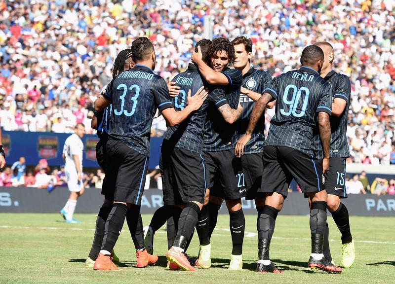 Real Madrid Inter esultanza
