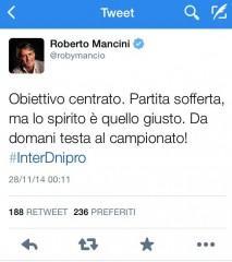 tweet mancio