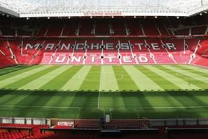 L'Old Trafford, stadio del Manchester United, ha una capienza di circa 75.000 posti