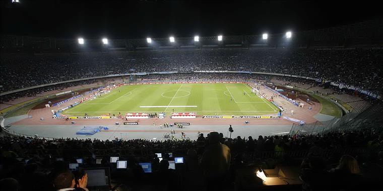 Napoli-Inter, più di 50mila spettatori al San Paolo