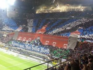 Inter Milan coreografia Curva Nord CN