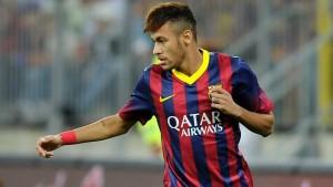 In attacco sull'out: Neymar
