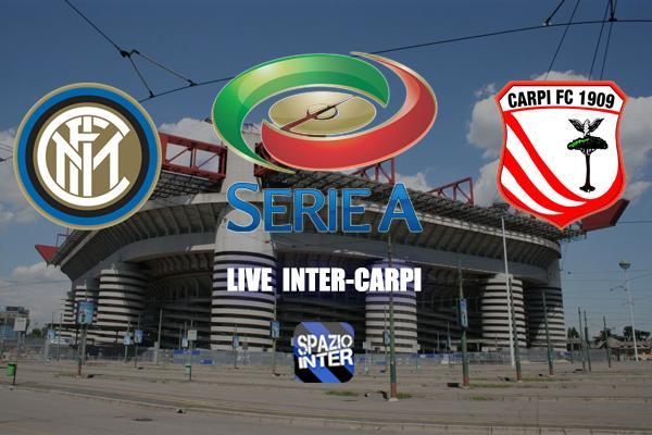 LIVE, Inter -Carpi: Finisce con un pareggio beffa, Inter a -6 dal Napoli