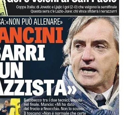 RASSEGNA STAMPA- GdS: Mancini