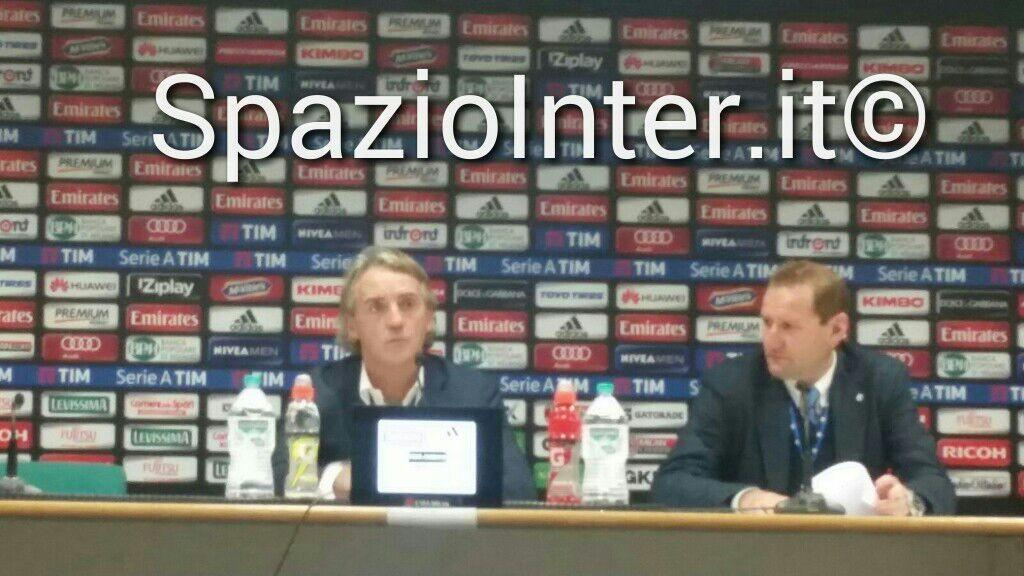Mancini in conferenza: