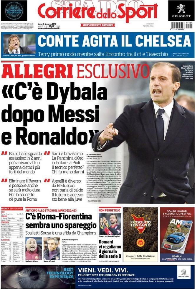 Rassegna Stampa - CdS: