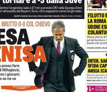 RASSEGNA STAMPA - GdS: Inter, sabato sfida capitale
