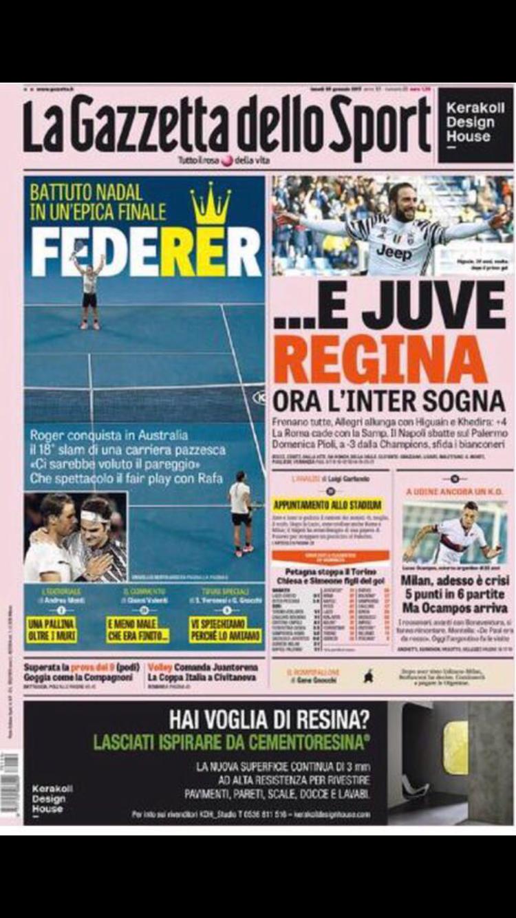 Rassegna Stampa Ora L 39 Inter Sogna