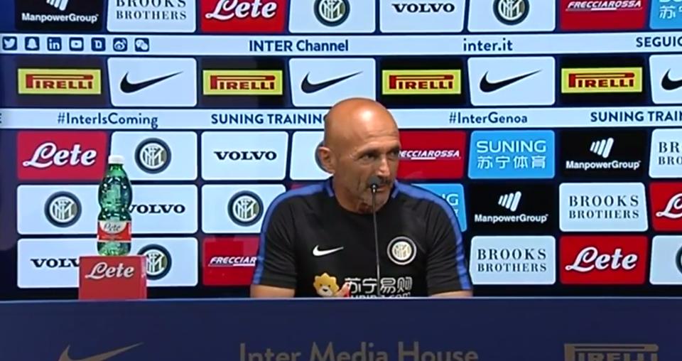 Spalletti dichiara il suo amore per l'Inter: