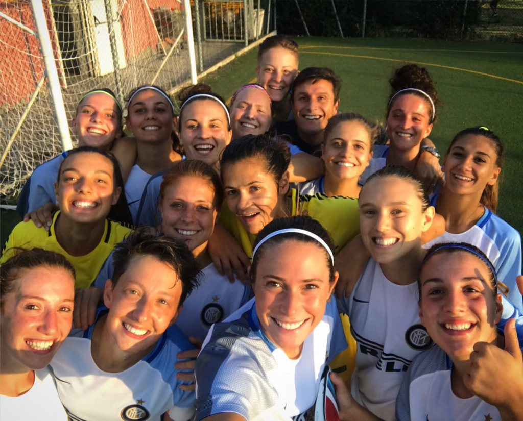 Serie A per l'Inter Femminile, i complimenti di Zanetti e Antonello: