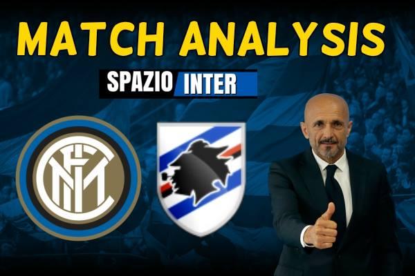 MATCH ANALYSIS Inter - Sampdoria: vincere per una notte da primi