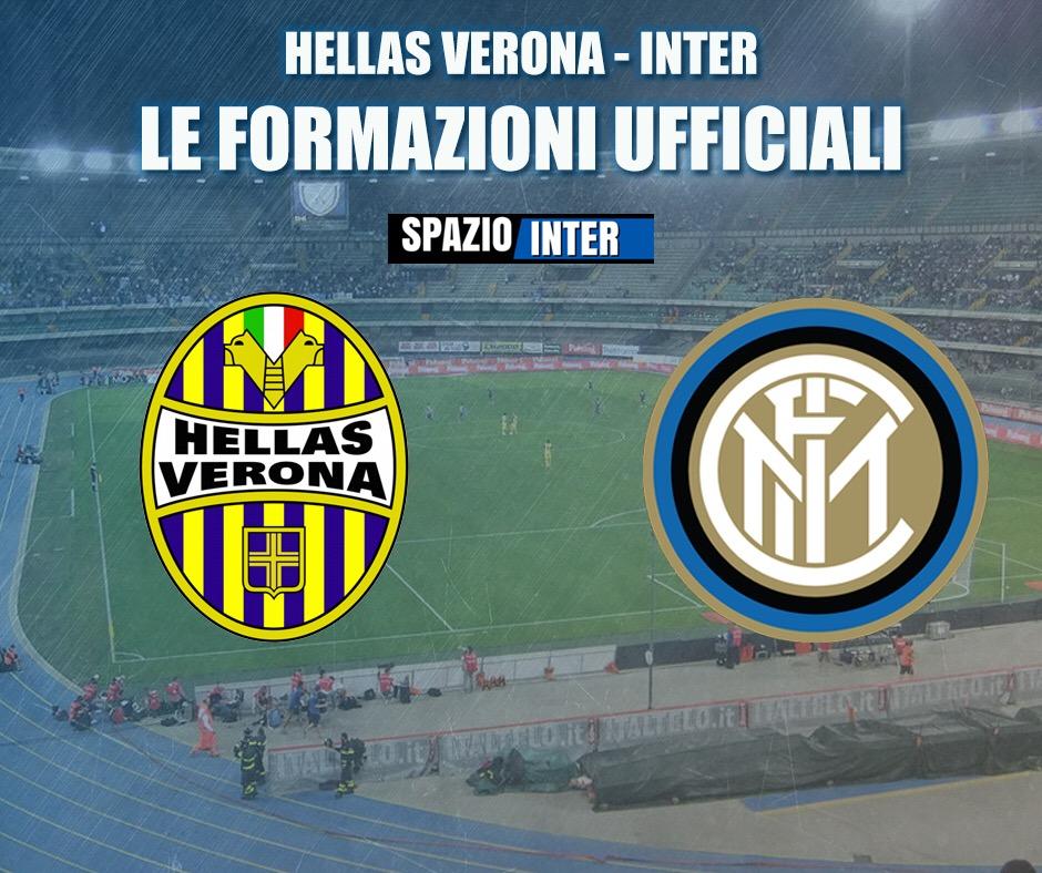 Verona-Inter, le formazioni ufficiali: squadra che vince non si cambia