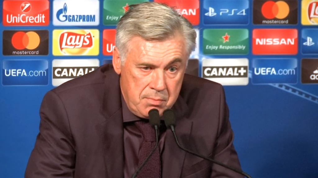 Ancelotti chiarisce il mancato arrivo di Arturo Vidal all'Inter