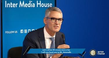 """L'Inter inaugura la partnership con Acronis, Antonello: """"Garantire la sicurezza è una priorità…"""""""