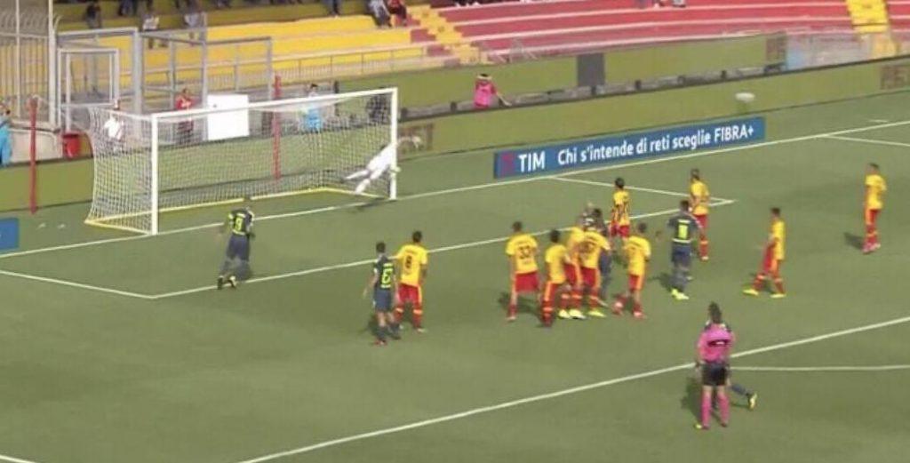 Benevento in A, l'Inter fa gli auguri ai giocatori di Baroni: