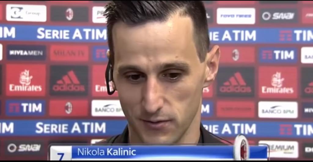Derby Milano - Kalinic a rischio forfait, il MIlan spera nel recupero